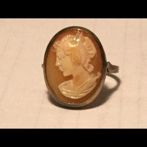 Cameo Ring bought in Italy.